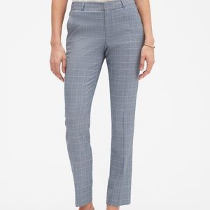 BLUE Banana Republic Ryan Curvy Fit Pants